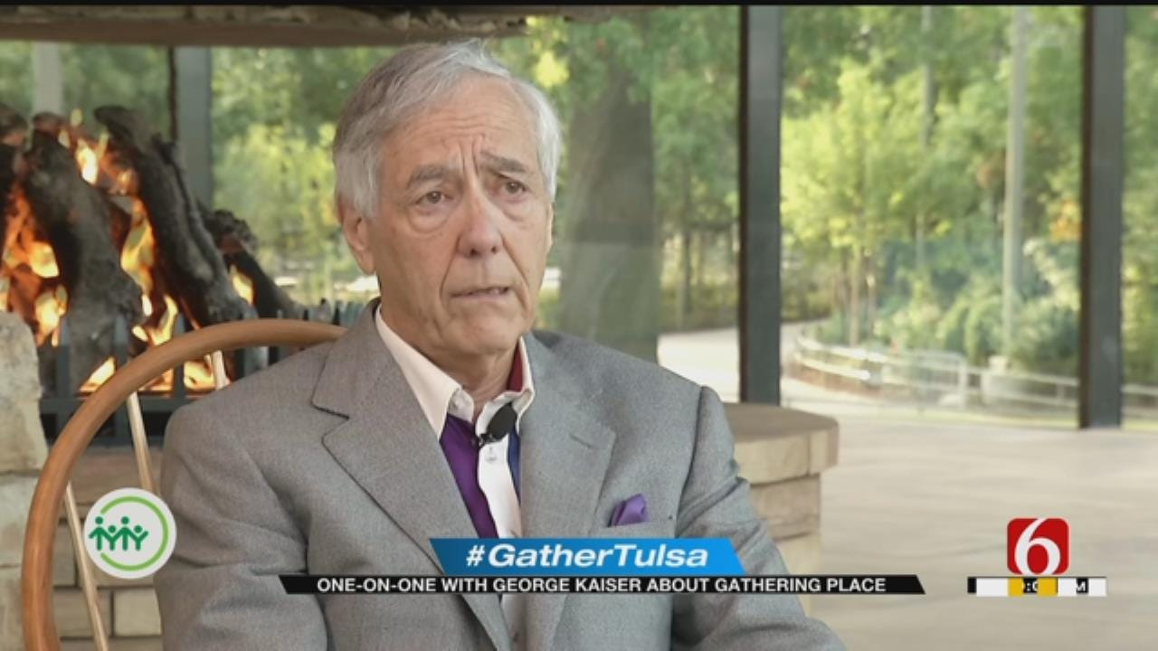 Gathering Place: George Kaiser's Vision Is To Improve Tulsa For Our Children