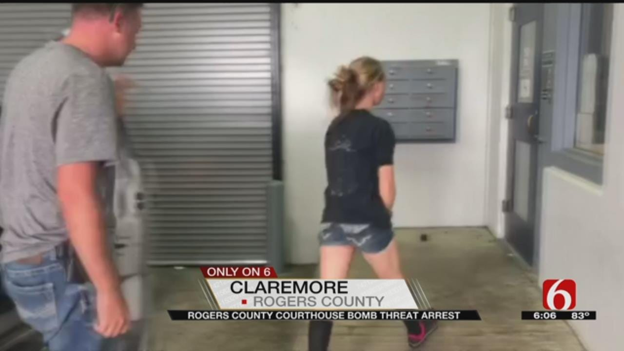 Woman Arrested In Connection To Rogers County Bomb Threat