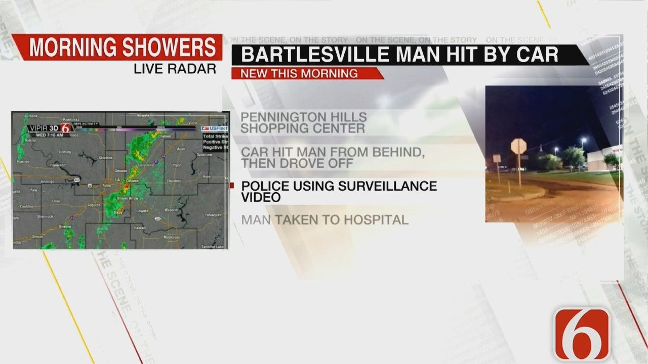 Bartlesville Police Investigate Hit And Run