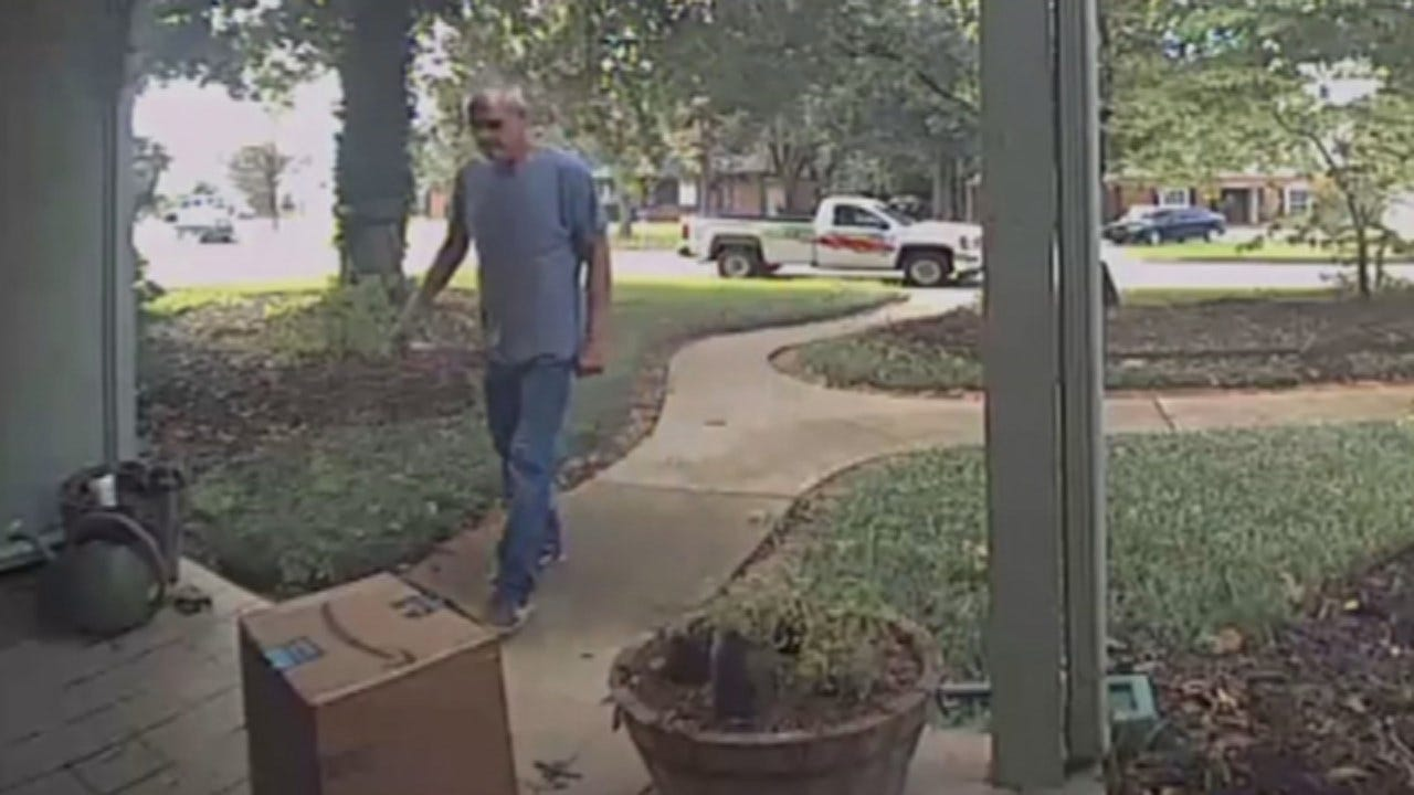 Porch Pirate Steals From Tulsa Woman In Broad Daylight