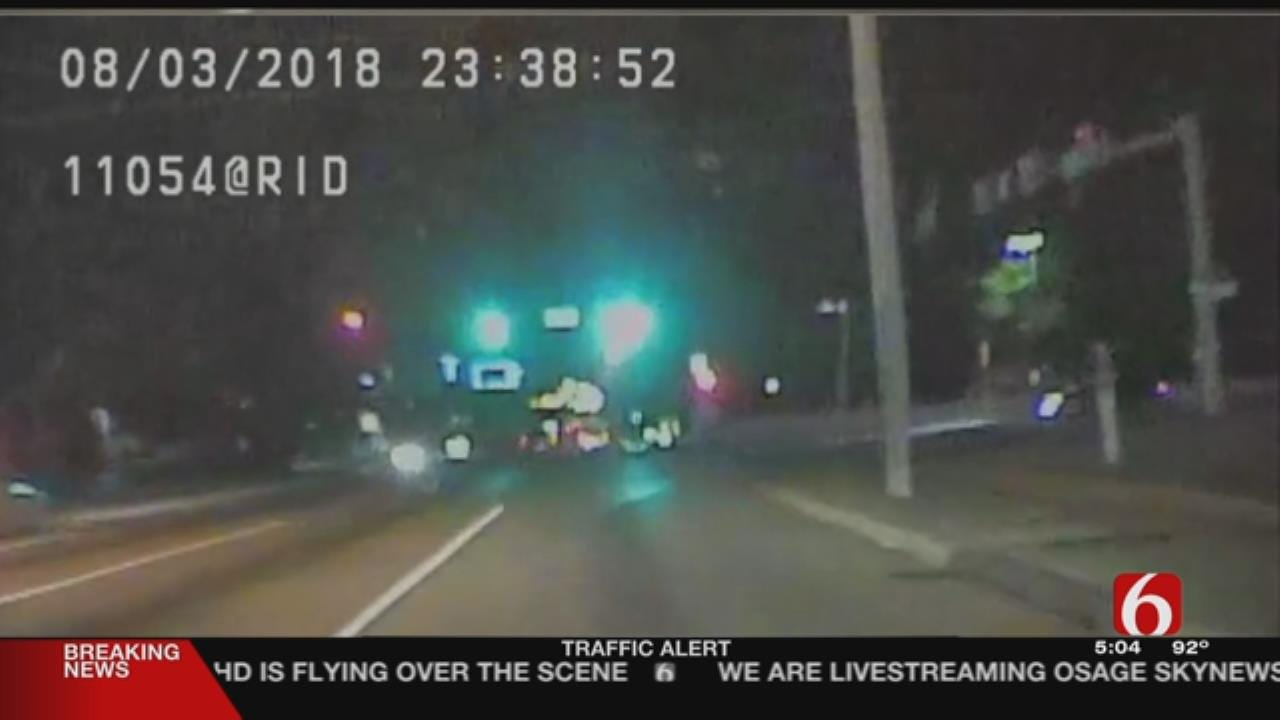 TPD Releases Dashcam Footage Of High-Speed Chase