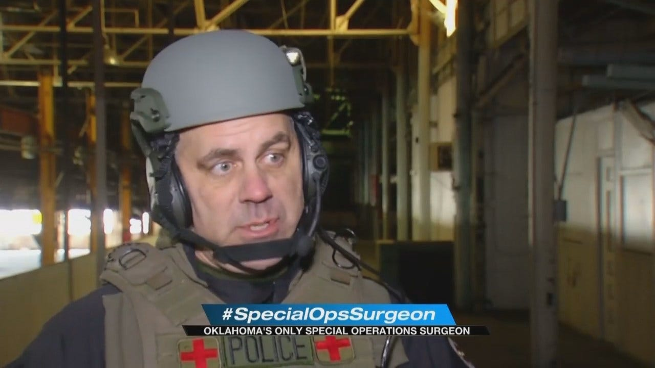 Trauma Surgeon Volunteers With Tulsa Special Ops Team