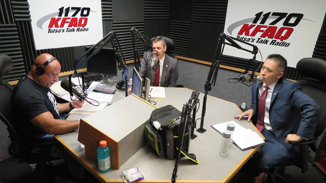 Tulsa County DA Candidates Kunzweiler, Fu Debate On KFAQ Talk Radio 1170