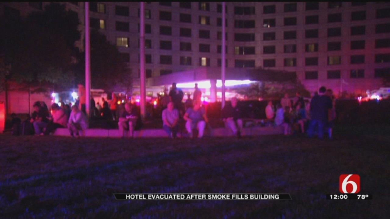 Tulsa Hotel Evacuated After Smoke Detected