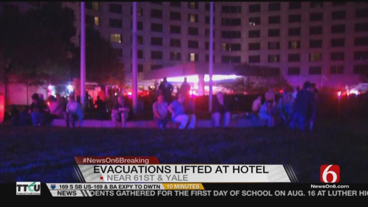 Joseph Holloway: Tulsa Hotel Evacuated After Smoke Detected