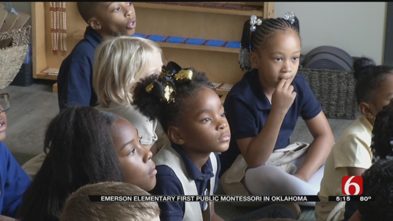 Emerson Elementary Welcomes Students, Staff To State's First Public Montessori School
