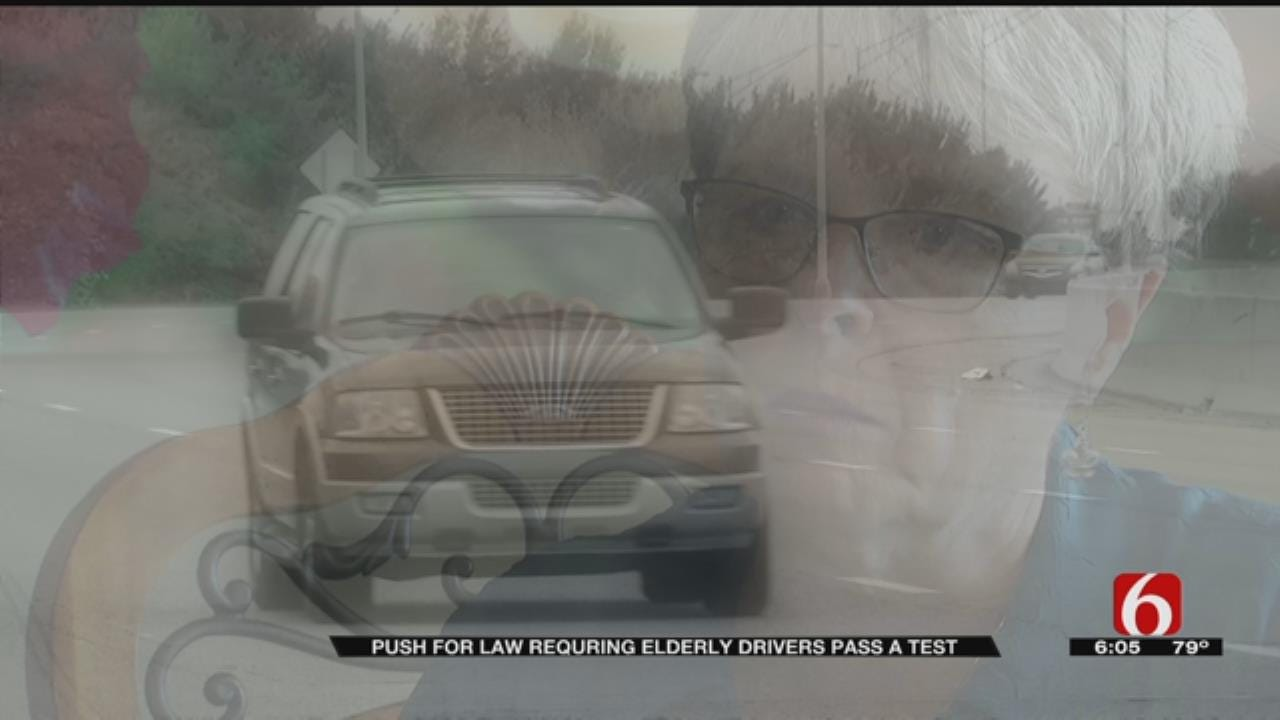 Crash Survivor Believes Elderly Drivers Should Be Tested To Keep License