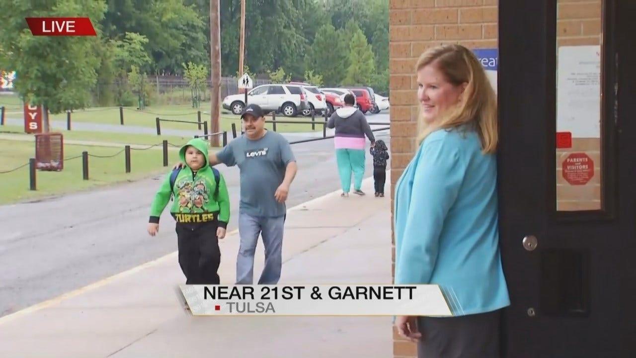 Dave Davis: Tulsa School Students Head Back To Class