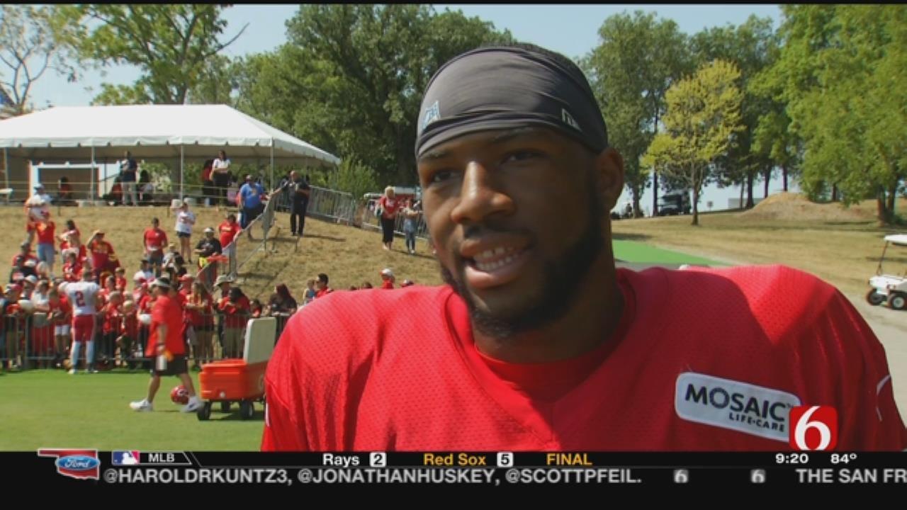 Former OU Receiver Jordan Smallwood Is Focused On NFL Dream