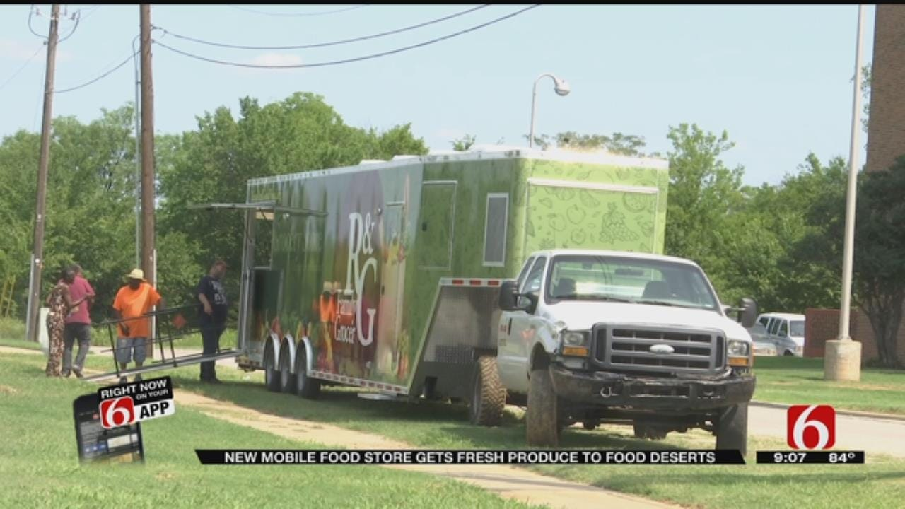 Tulsa Non-Profit Introduces New Mobile Grocery Store