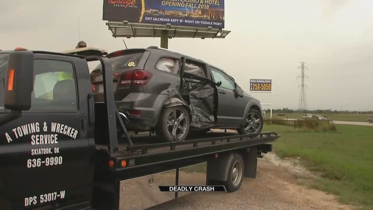 One Killed In Crash East Of Skiatook