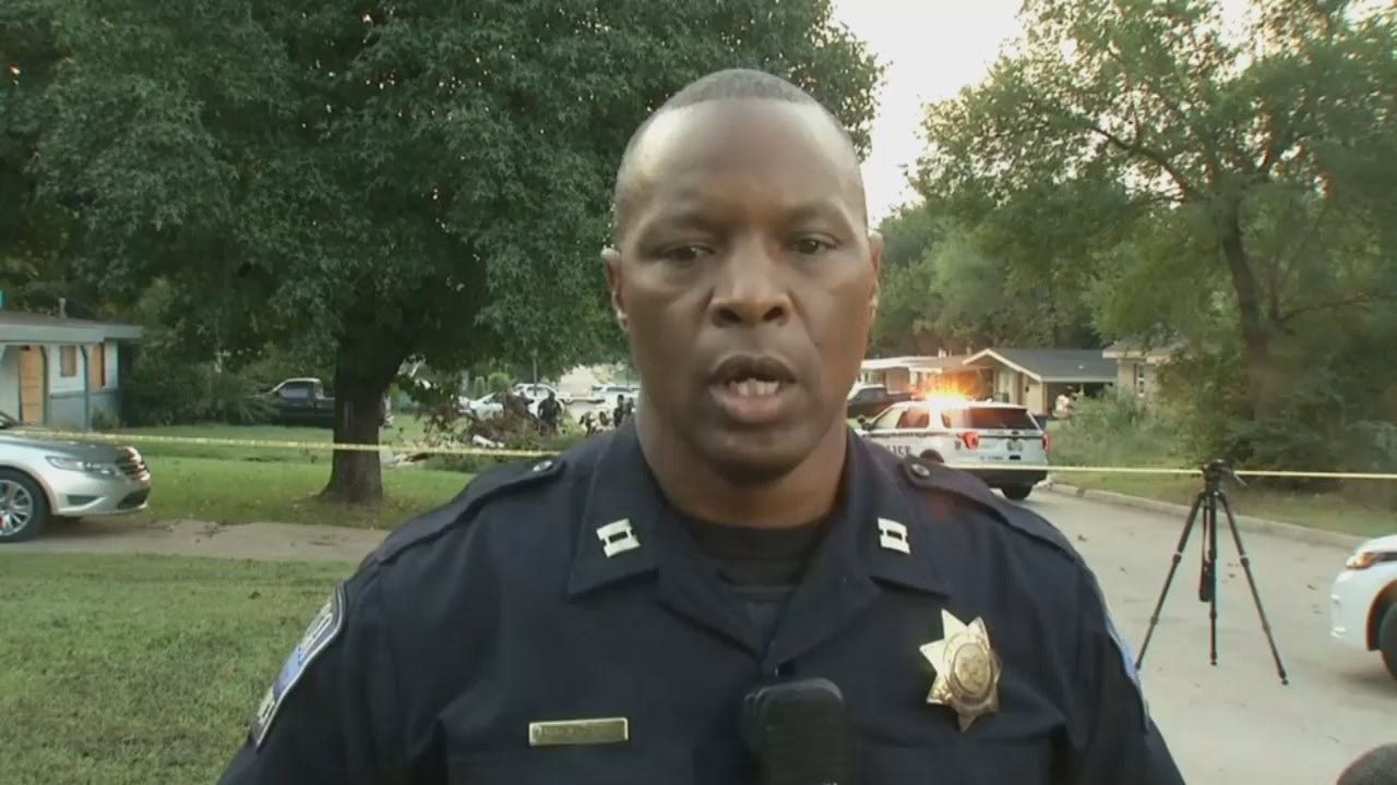 WEB EXTRA: Tulsa Police Captain Malcolm Williams Talks About The Carjacking, Shooting