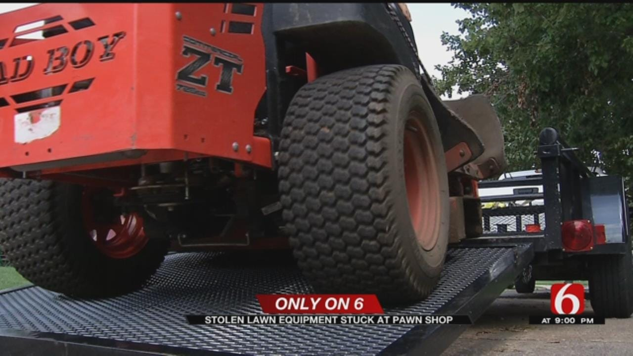 Cleveland Man's Stolen Lawn Equipment Stuck In Pawn Shops