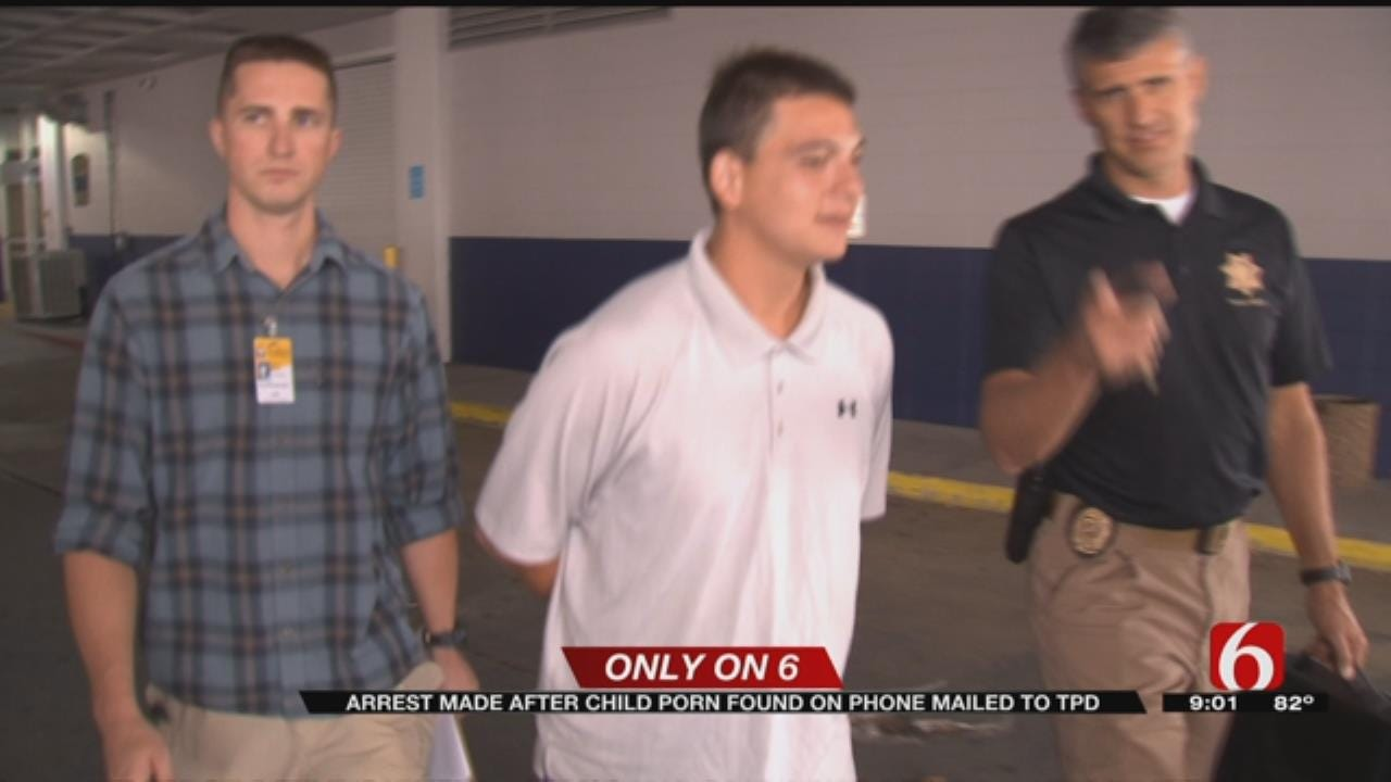 Phone Mailed To TPD Detectives Leads To Child Sexual Abuse Arrest