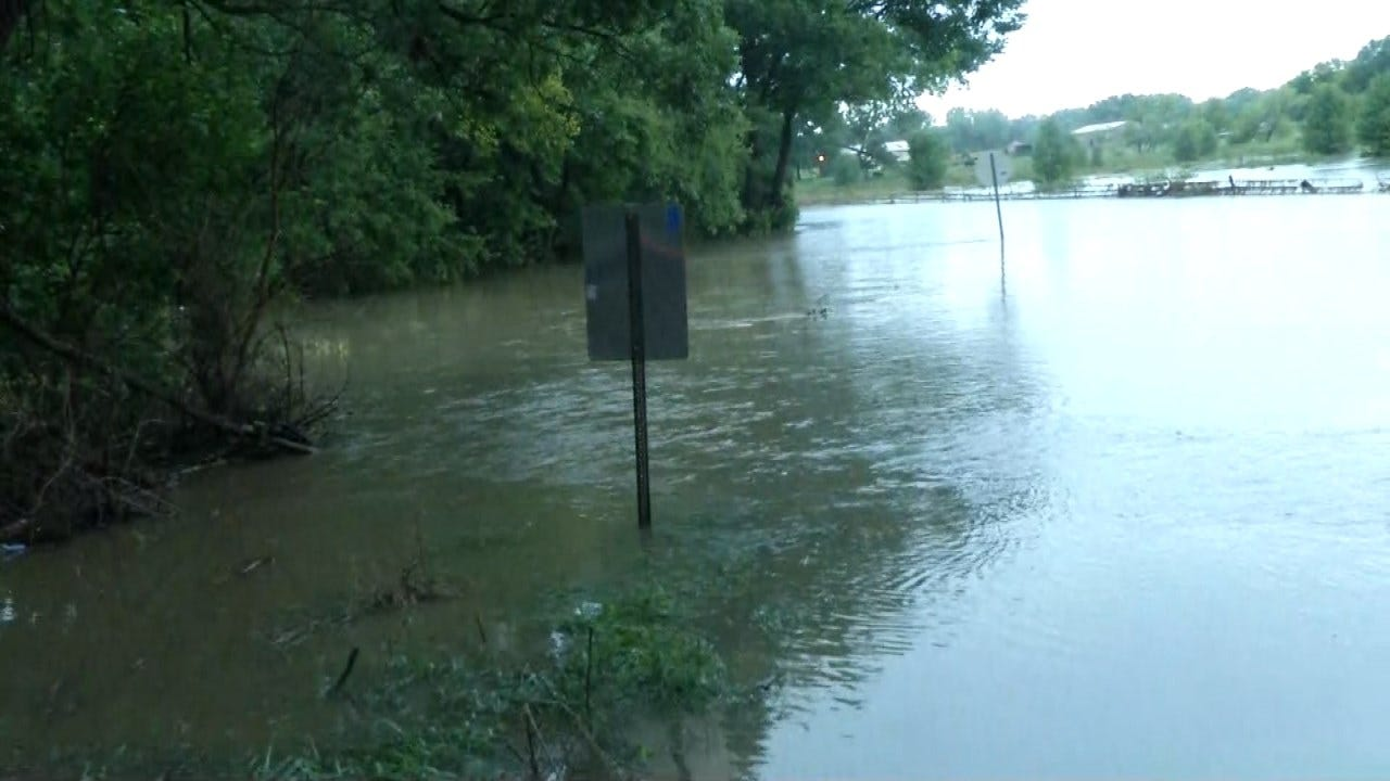 Father, Son Dead In Kansas Flooding