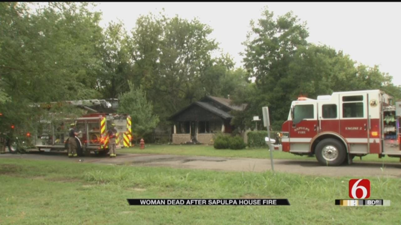 Woman Found Dead In Sapulpa House Fire