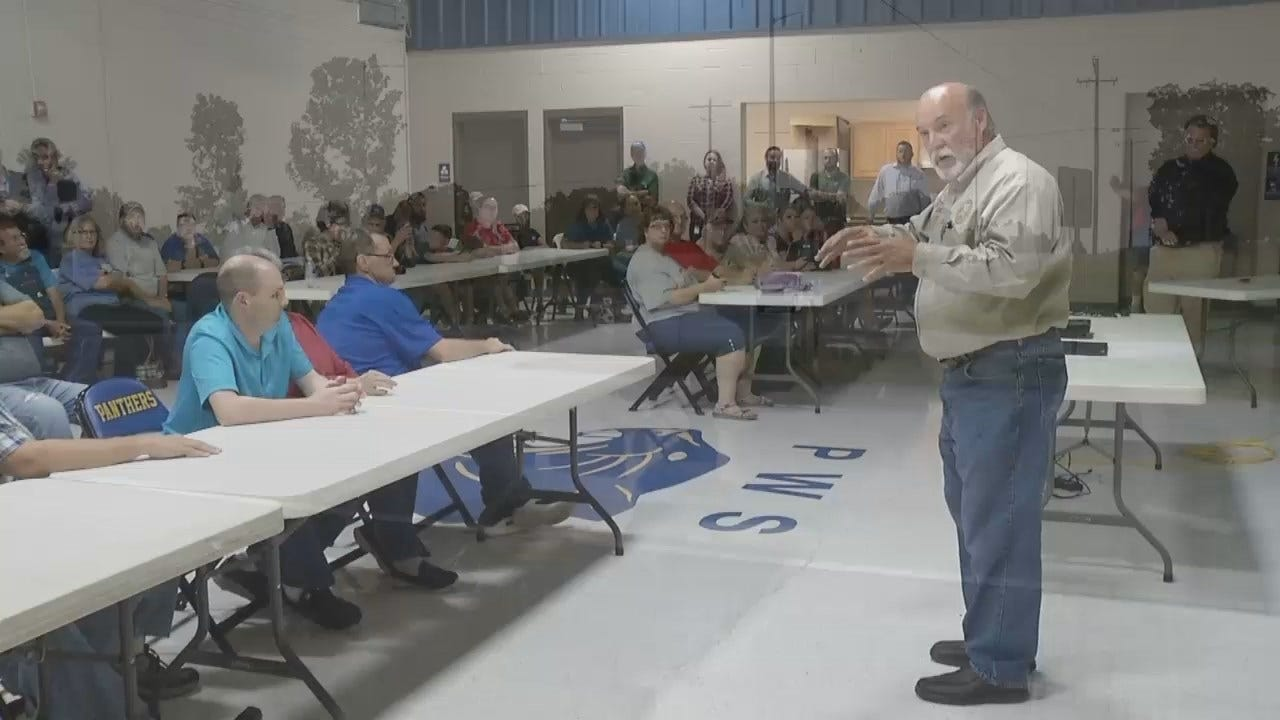 WEB EXTRA: Video From Creek County Highway Intersection Meeting