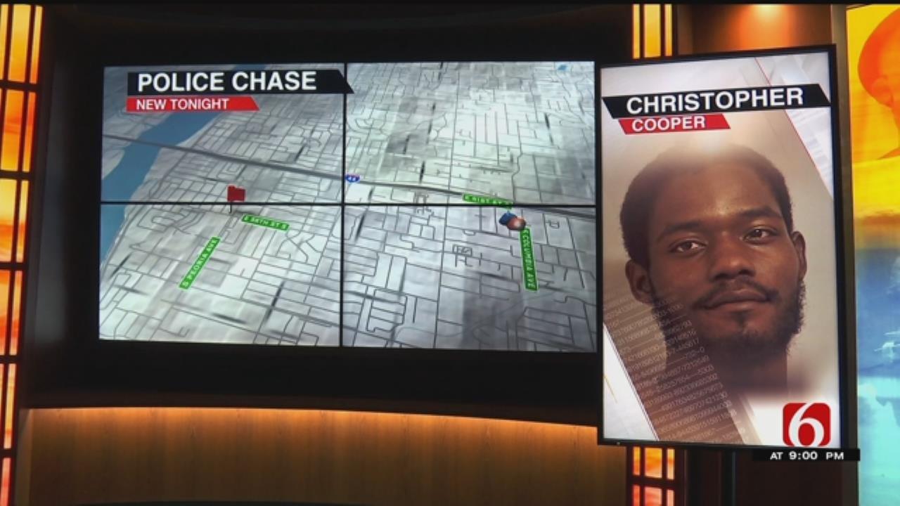 Tulsa Man Arrested After Leading Police On A Destructive Chase