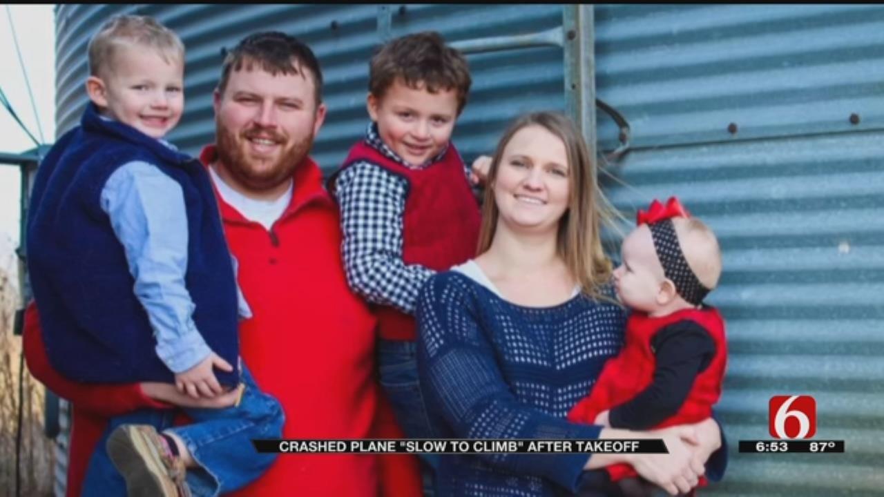 Report: Plane Climbed Slowly Before Fatal Ponca City Crash