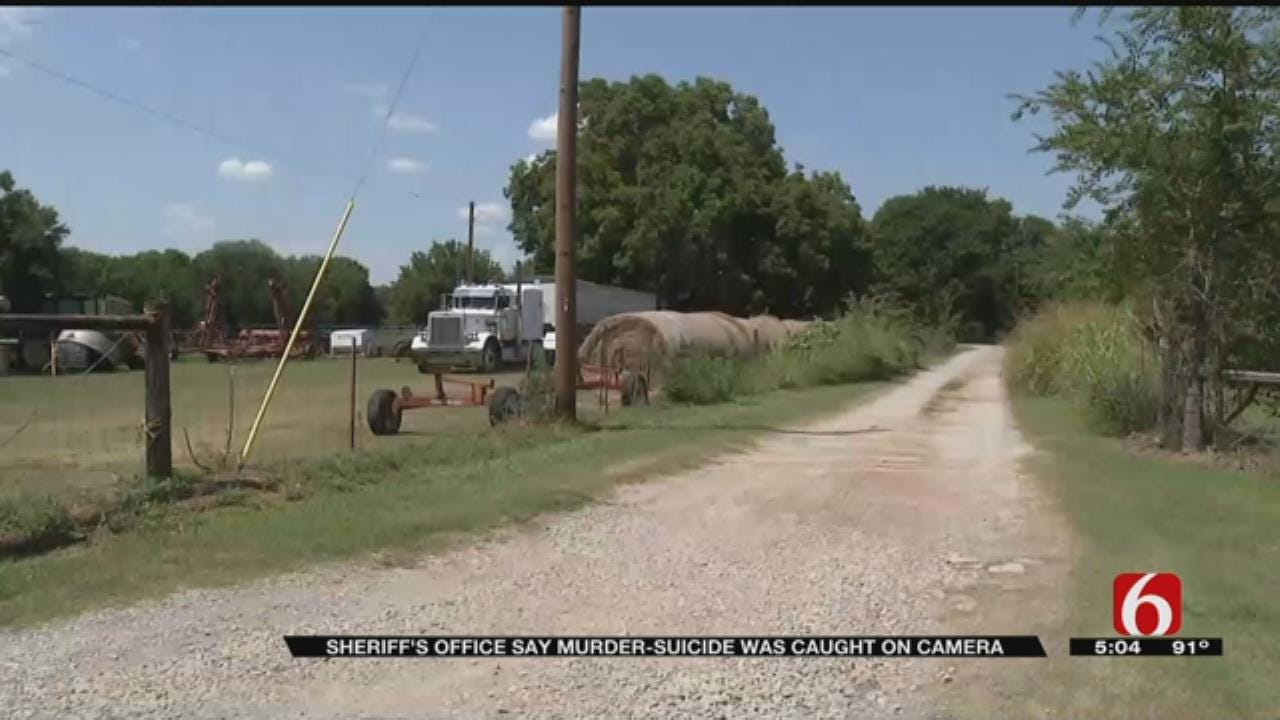 Osage County Murder-Suicide Caught On Camera, Deputies Say