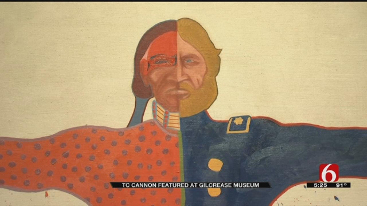 Gilcrease Exhibit Shows Work Of Oklahoma-Born T.C. Cannon