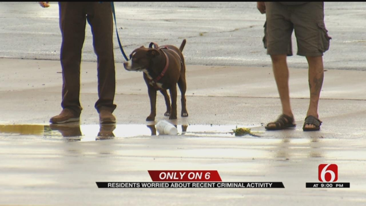 Rise In Criminal Activity Has Tulsa Riverside Community Concerned
