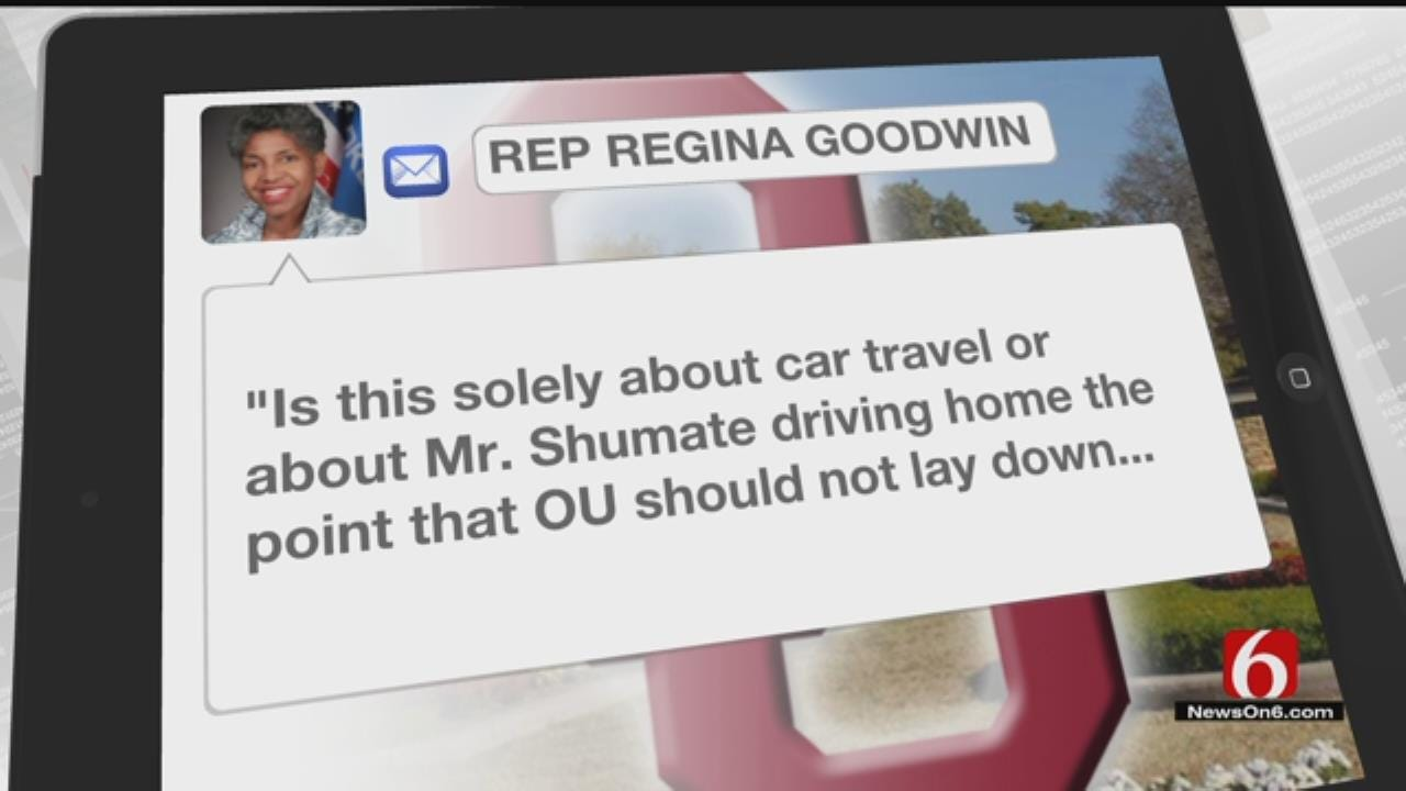 State Representative Shows Support For Recently Resigned OU Associate VP