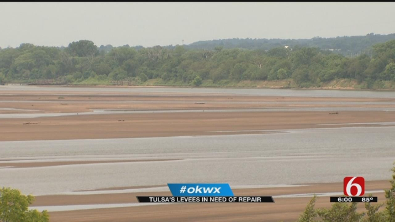 Assistant Secretary Of The Army Tours Aging Tulsa Levee System