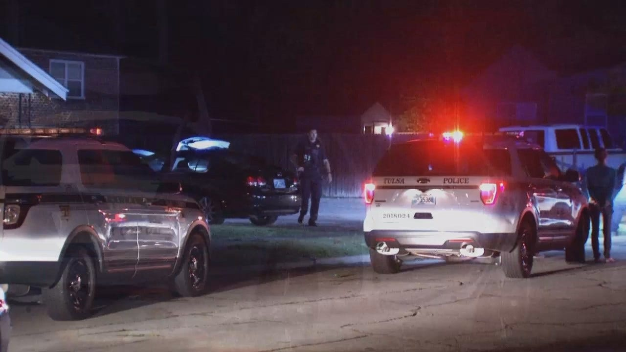 WEB EXTRA: Video From Scene Of Tulsa Stolen Car Arrests
