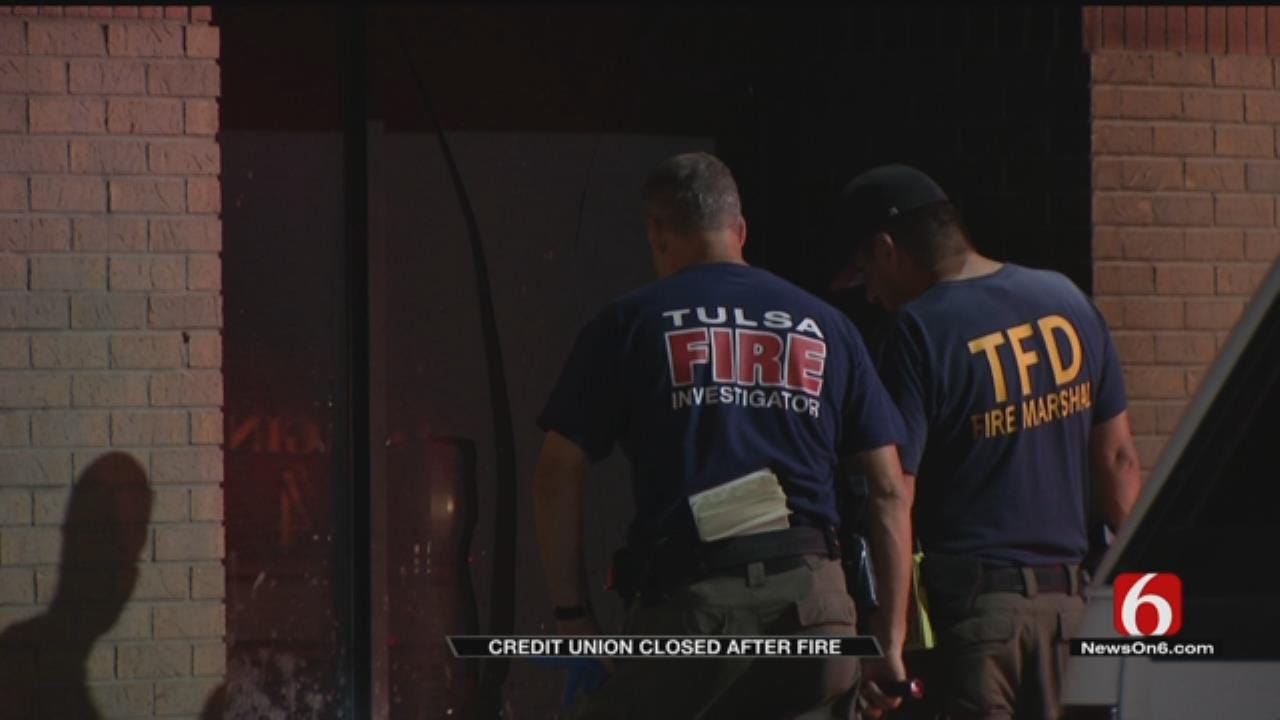 Two Suspicious Fires At Tulsa Financial Institution Under Investigation