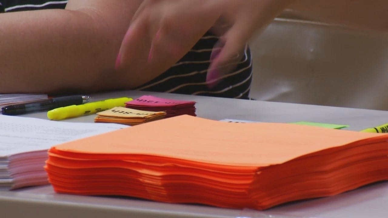 Native American Students In Broken Arrow Schools Receive School Supplies