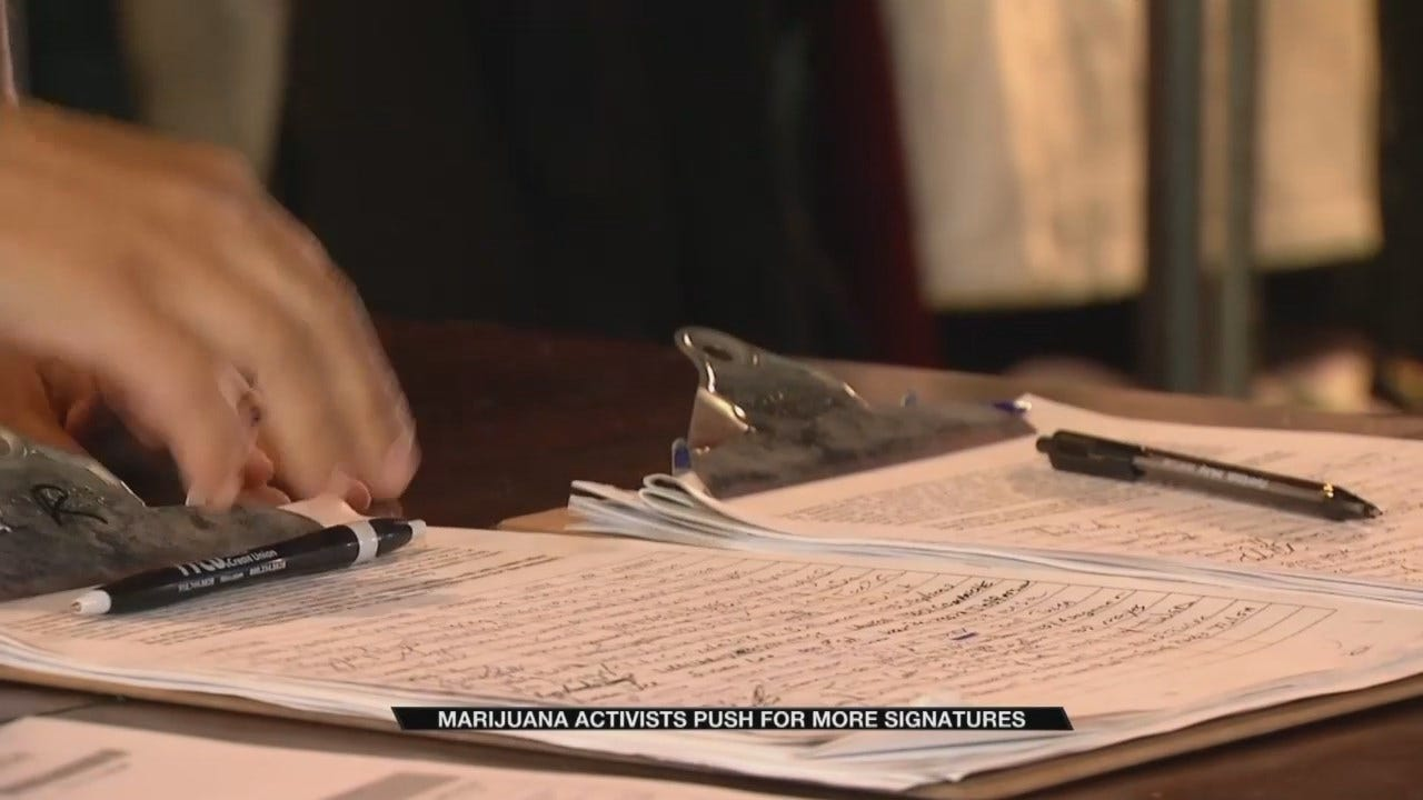 Recreational Marijuana Activists Aiming To Increase Signature Count Ahead Of Ballot Deadline