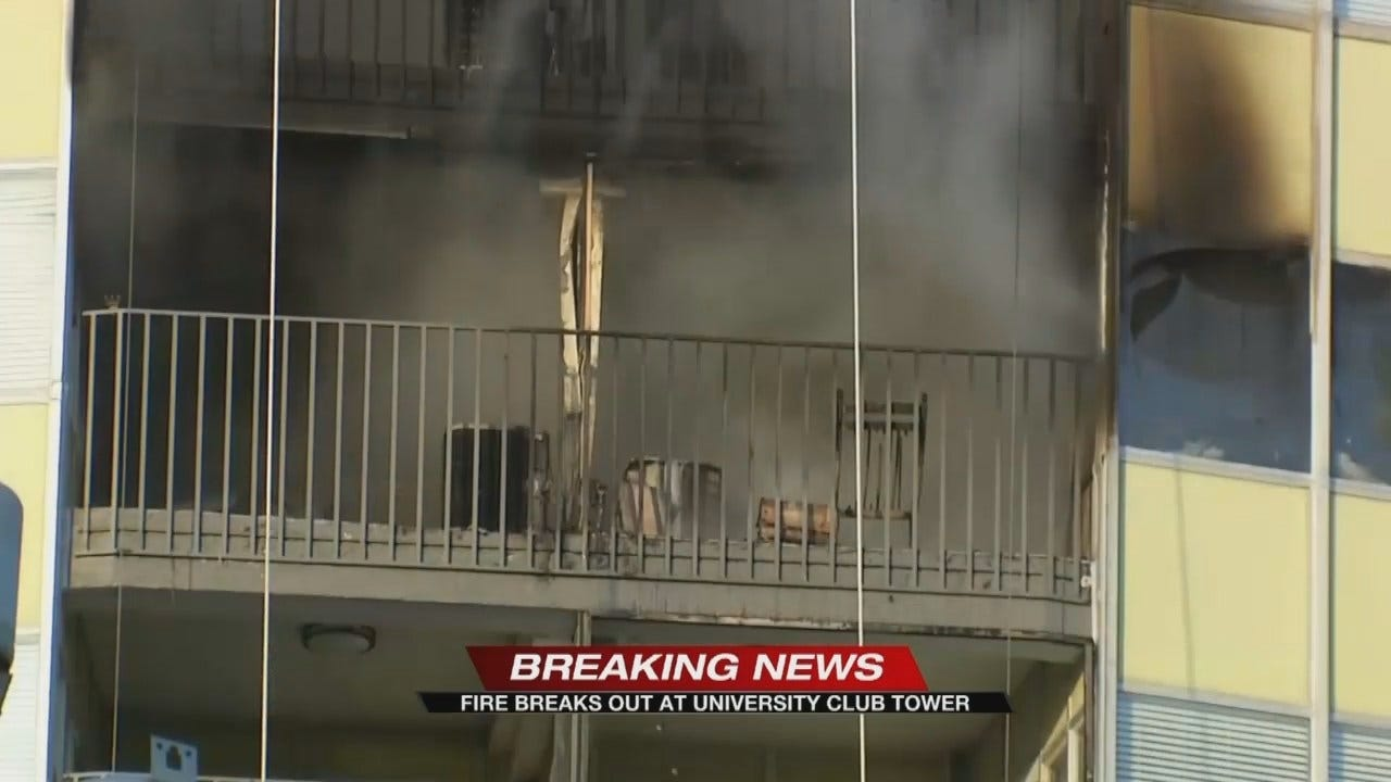 TFD: Fire At University Club Tower Under Control