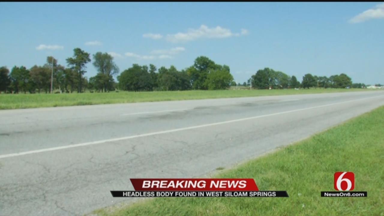Man's Body Found On Roadside In West Siloam Springs