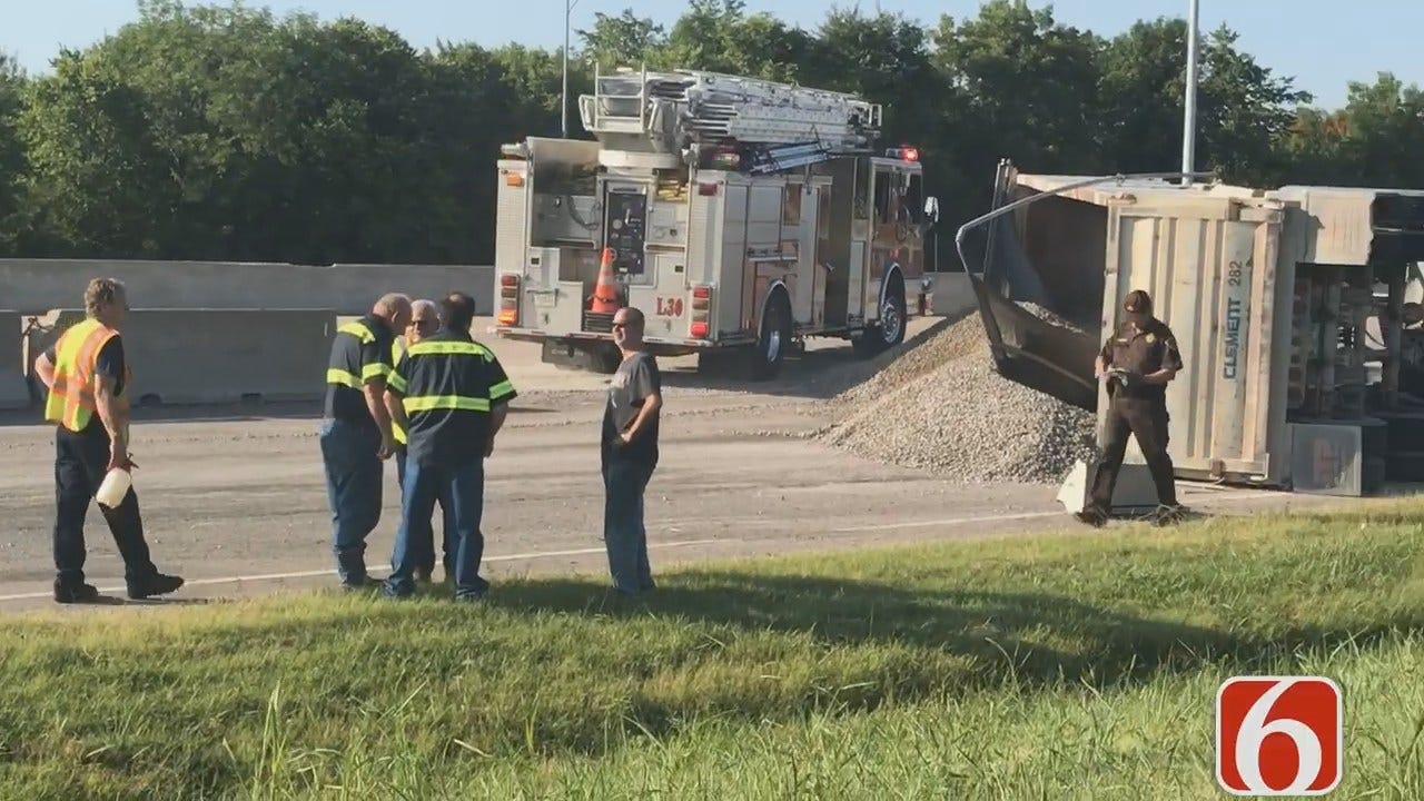 Joseph Holloway: Dump Truck Spills Gravel, Forcing Tulsa Road Closures
