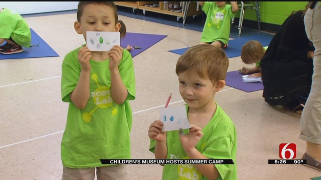 Tulsa Camp Teaches Kids To Celebrate Differences