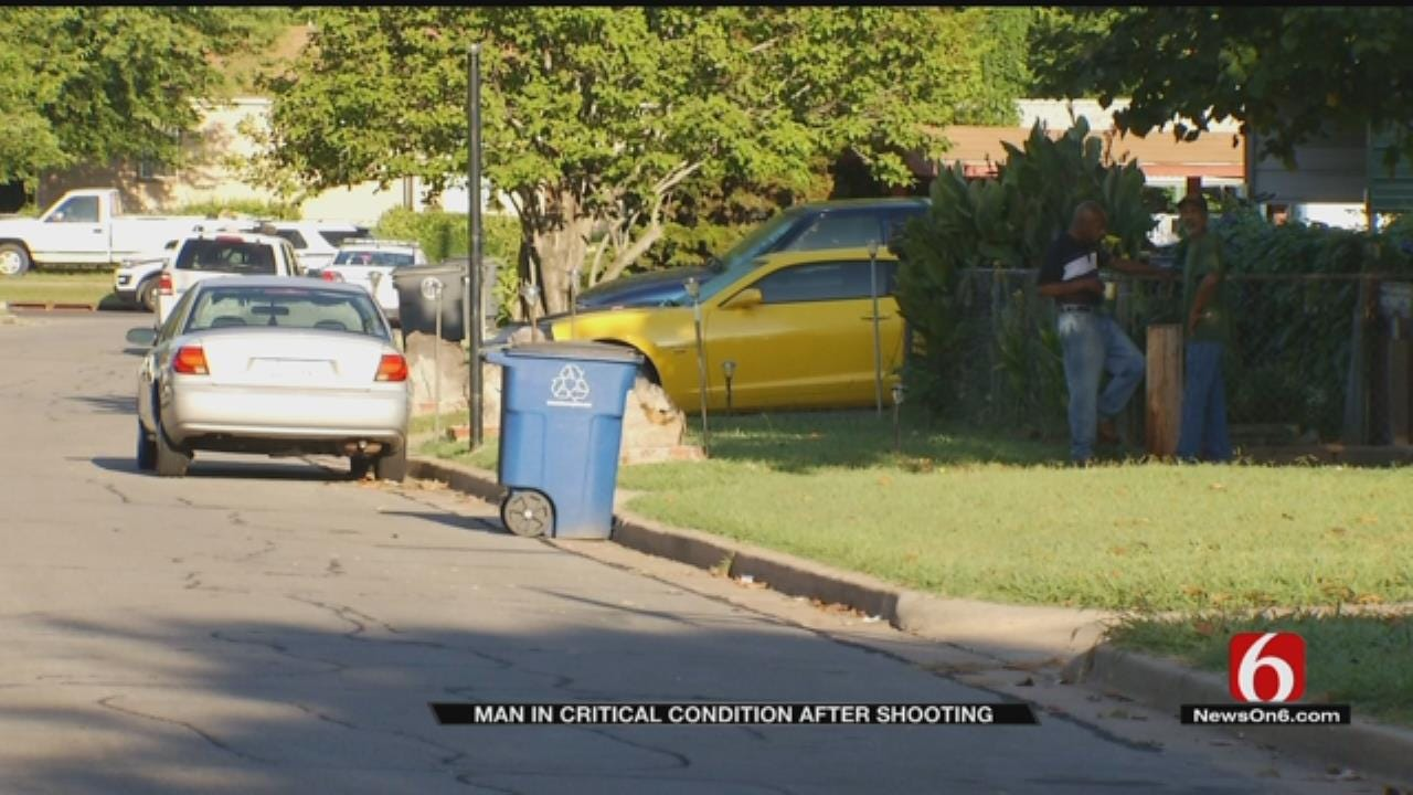 Tulsa Man Found Shot In Middle Of Street