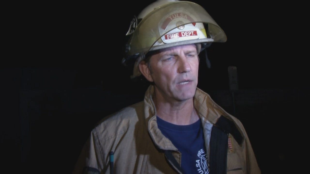WEB EXTRA: Tulsa Fire District Chief John Steiner Talks About The Fire