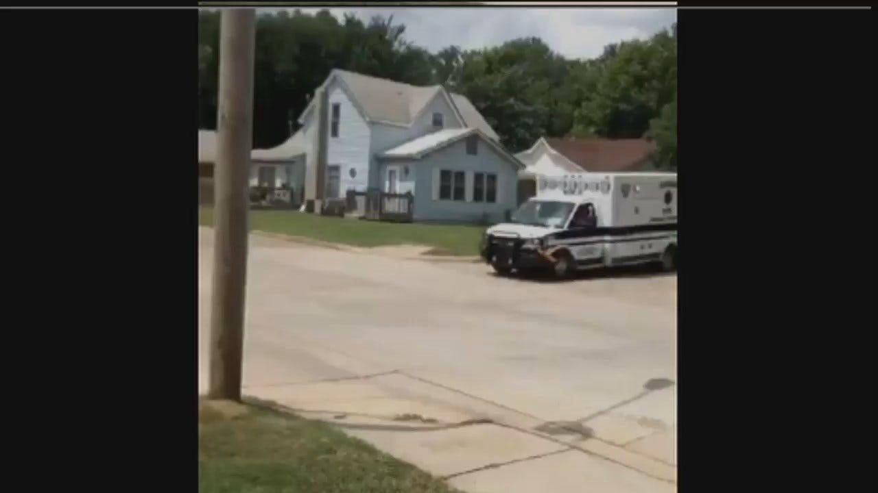 WEB EXTRA: Zack Markham Video Of Stolen Ambulance Chase