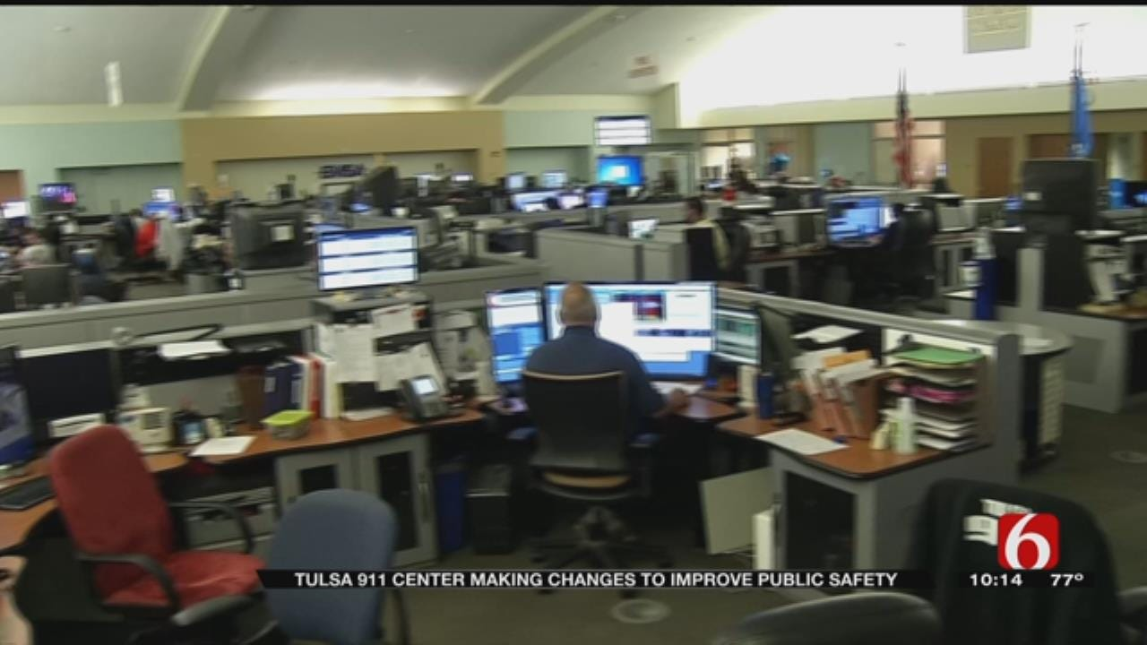 Tulsa 911 Center Making Major Improvements