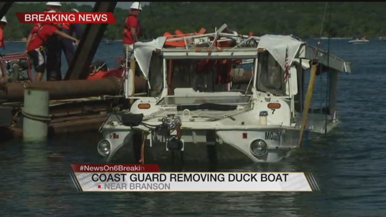 Joseph Holloway: Bringing Up Branson Duck Boat