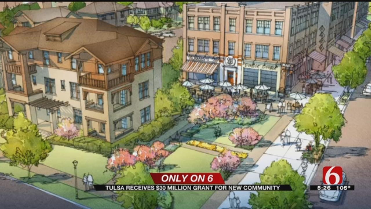 $30 Million Grant To Help Transform Tulsa Neighborhood