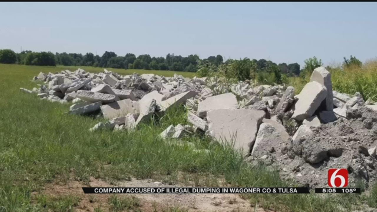 Crossland Construction Accused Of Illegal Dumping In Tulsa County