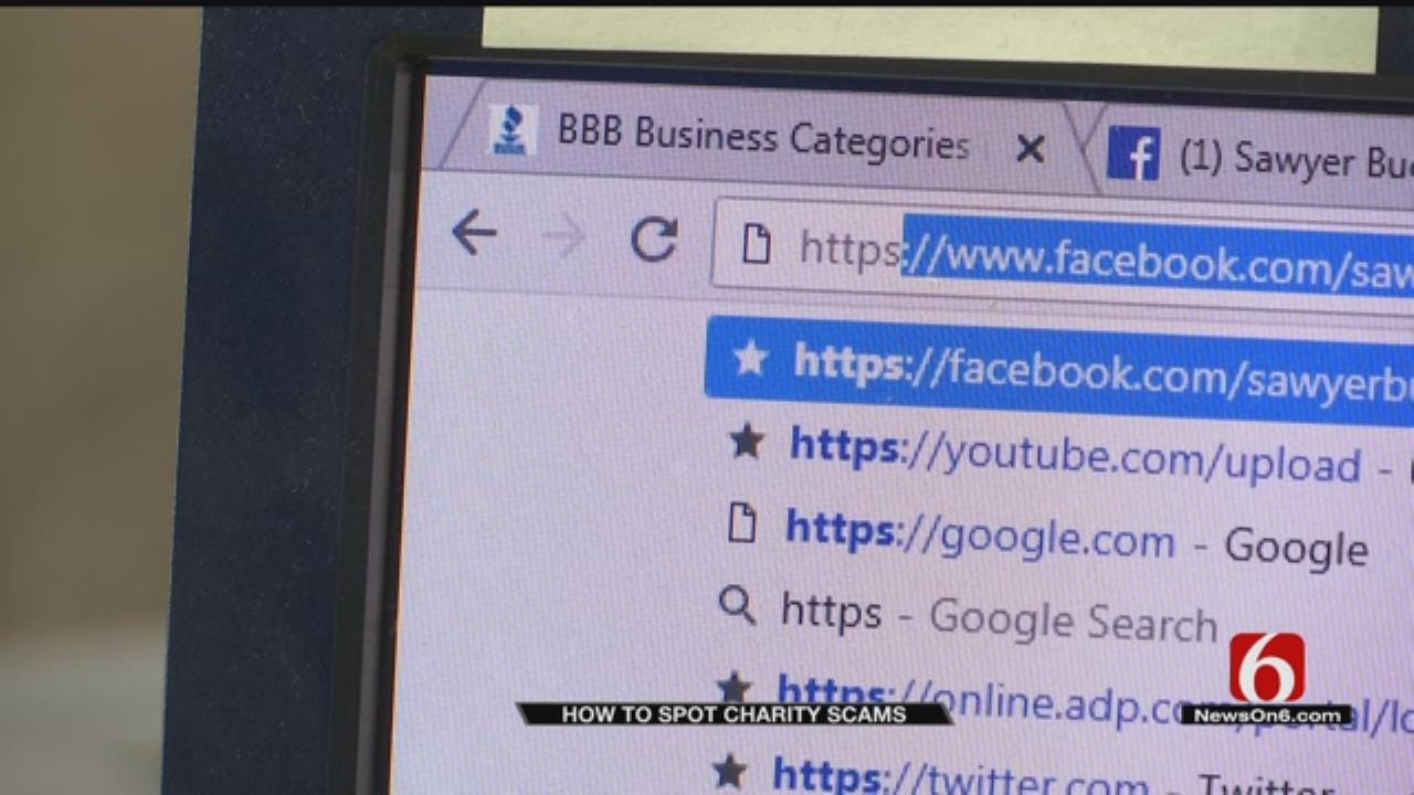 Tulsa Better Business Bureau: How To Spot Charity Scams