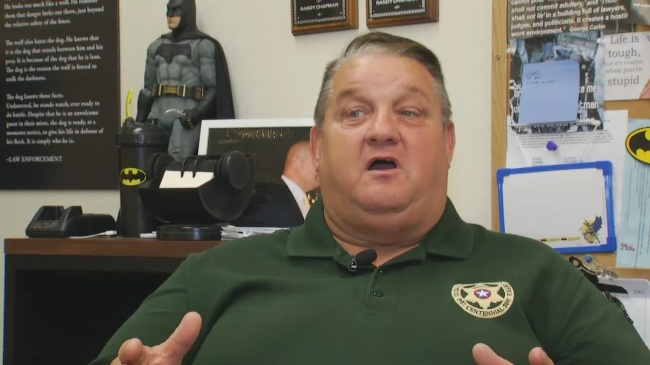 WEB EXTRA: Sheriff's Office Sgt. Randy Chapman Talks About Sovereign Citizens
