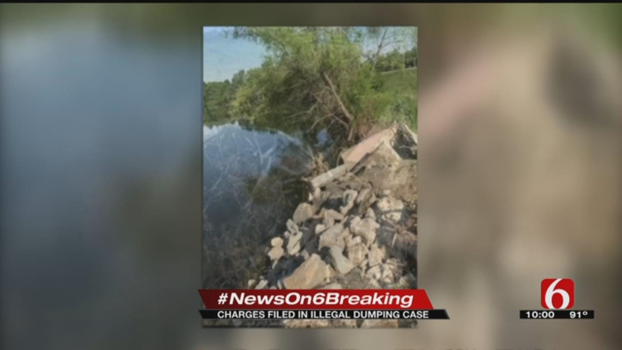 Wagoner County: Construction Company Illegally Dumped Debris In Federal Wetlands