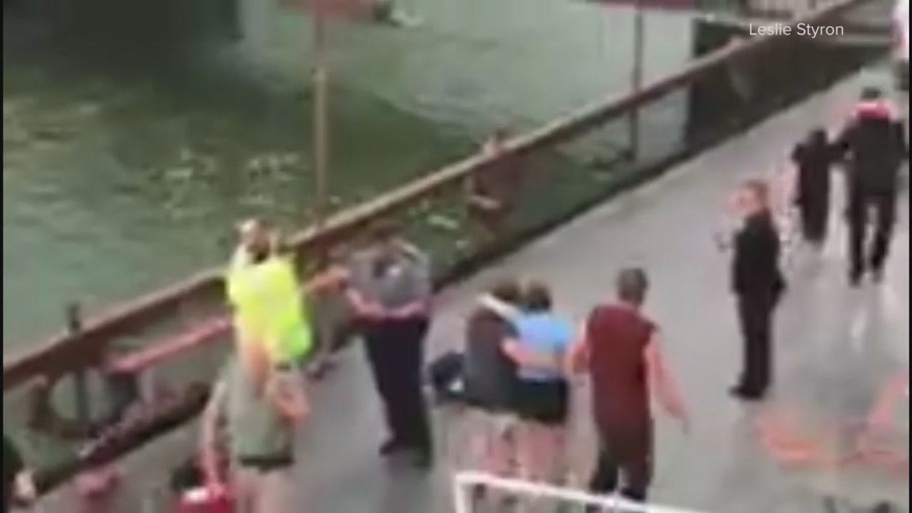 WEB EXTRA: Video From Scene Of Branson Boating Accident