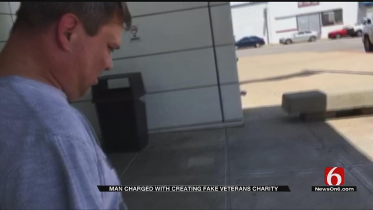 Tulsa Man Charged With Fake Veterans Charity Scam