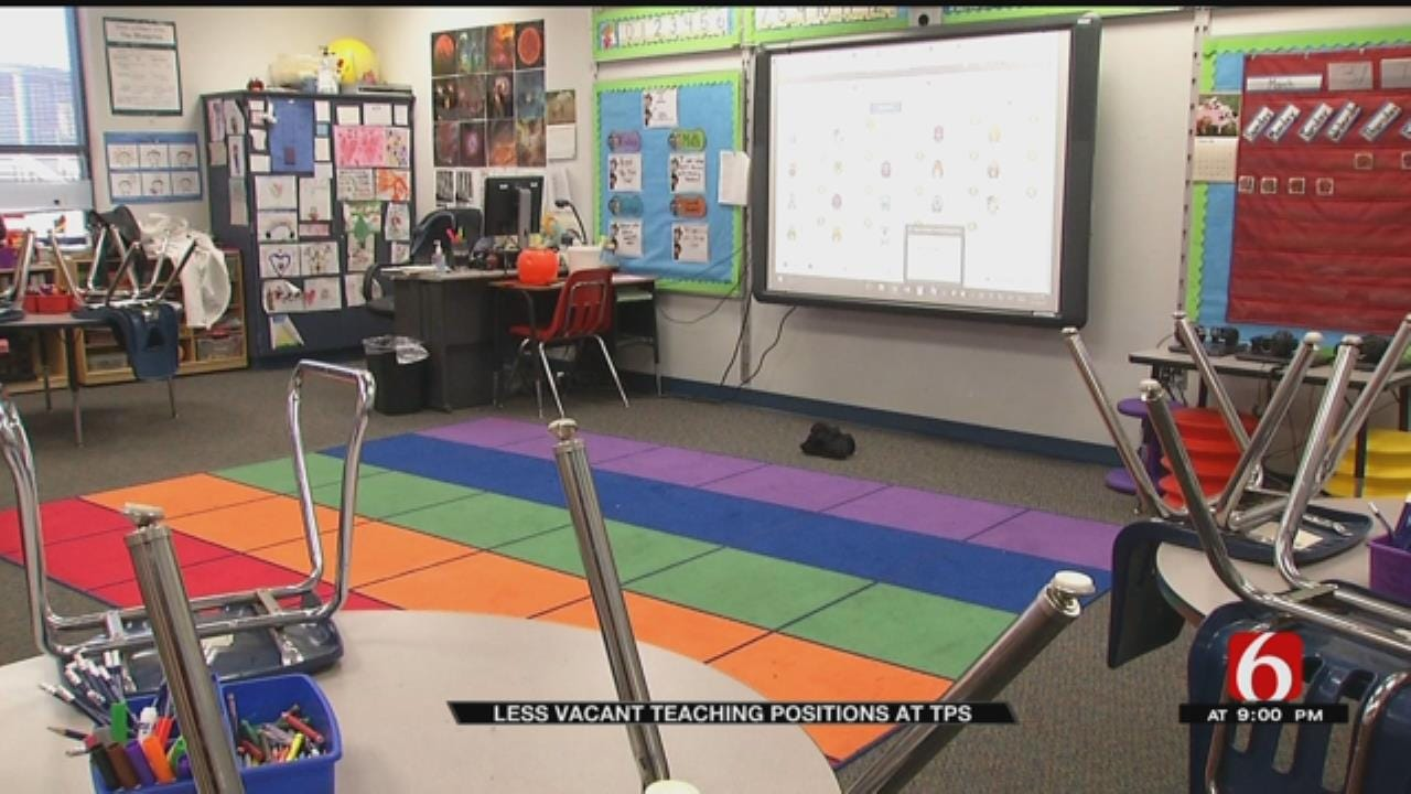 TPS Says Teacher Retention Is Up But Still Seeing A Shortage