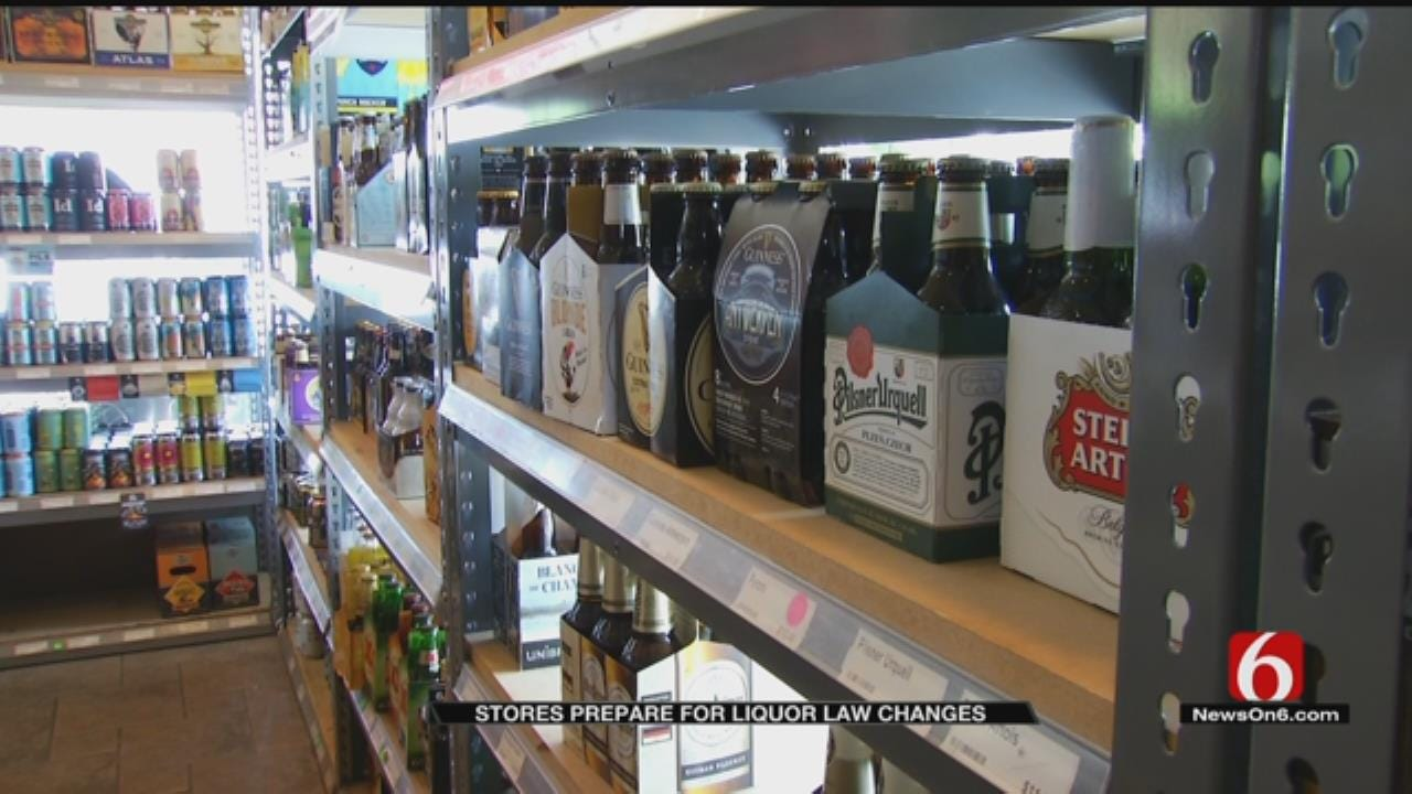 Liquor, Convenience Stores Working To Prepare For Liquor Laws To Take Effect